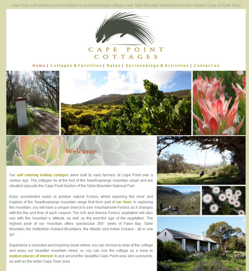 Cape Point Cottages