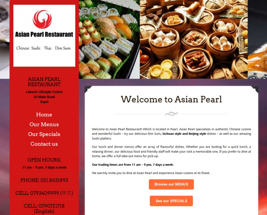 Asian Pearl Restaurant