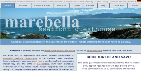 Marebella Seafront Guesthouse