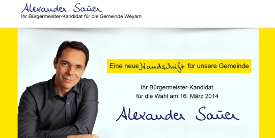 Sauer-Weyarn.de German website