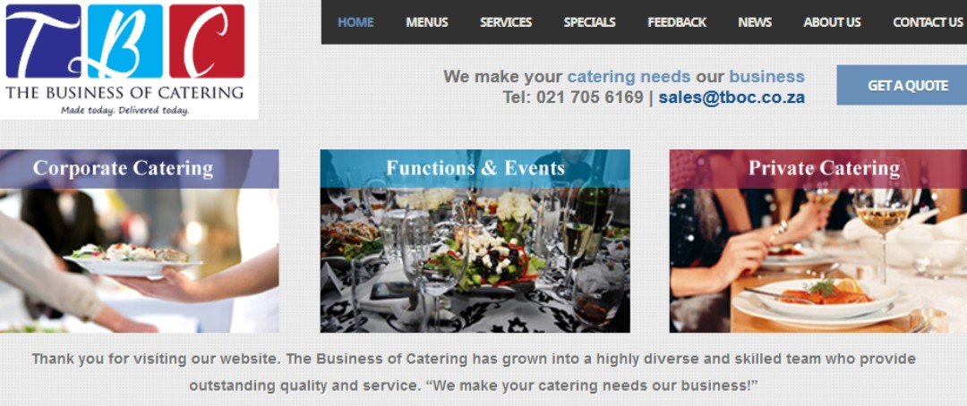 The Business of Catering