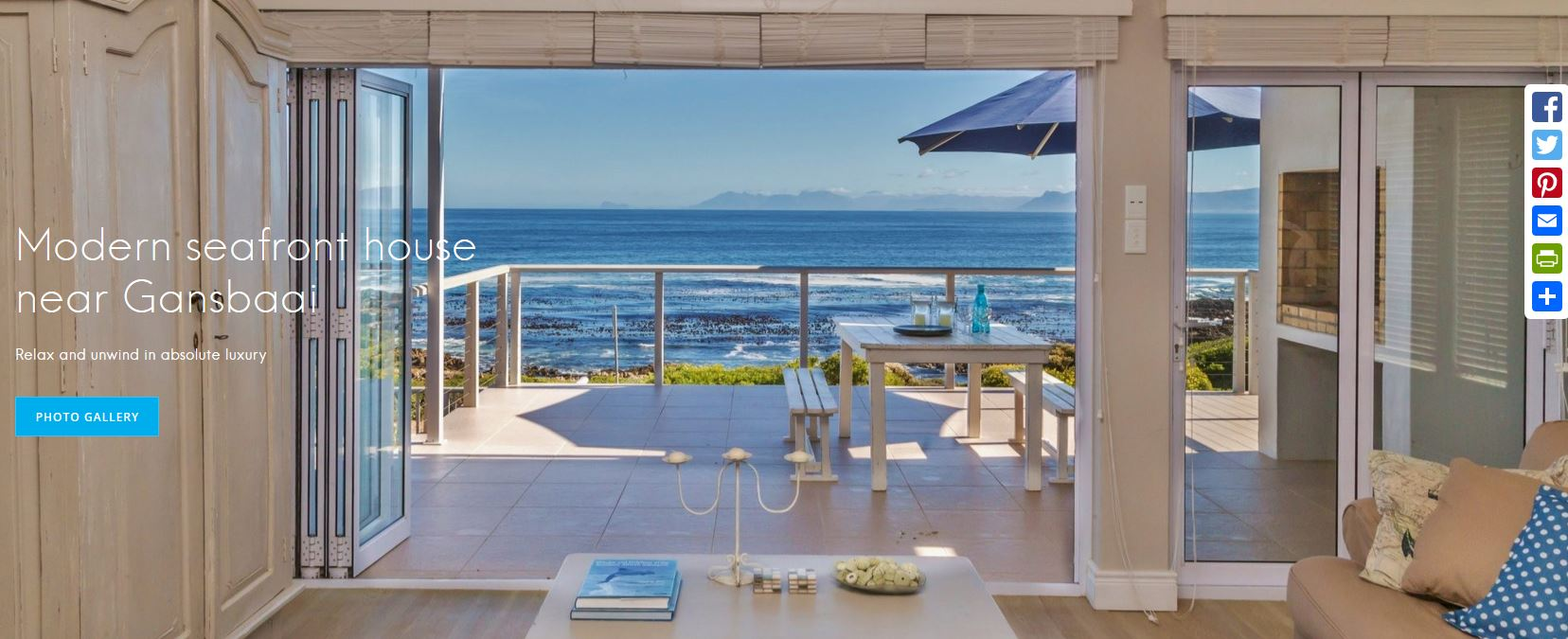 Gansbaai holiday house